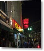 Grafton Street Pub And The Hong Kong In Harvard Square Cambridge Ma Metal Print