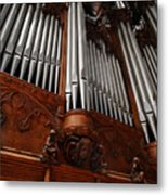 Graham Chapel Pipes Metal Print