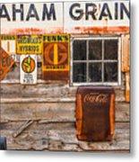 Graham Grain Company Metal Print