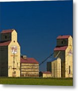 Grain Elevators Metal Print
