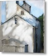 Grain Mill Metal Print