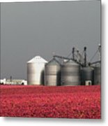 Grain Storage Infrared No1 Metal Print