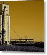 Grain Storage Infrared No2 Metal Print