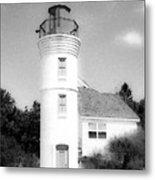 Grainy Lighthouse Metal Print