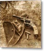 Grammas Gun 2 Metal Print
