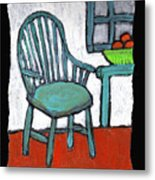 Grampa's Empty Chair Metal Print