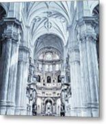 Granada Cathedral Interior Metal Print