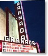 Granada Theater Metal Print