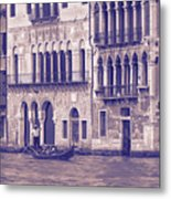 Grand Canal 2. Venice Italy Metal Print