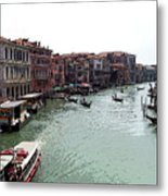 Grand Canal Venice Italy Metal Print