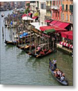 Grand Canal, Venice, Italy Metal Print