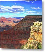 Grand Canyon # 22 - Mather Point Overlook Metal Print