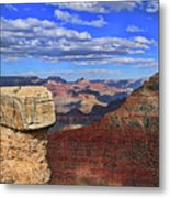 Grand Canyon # 29 - Mather Point Overlook Metal Print