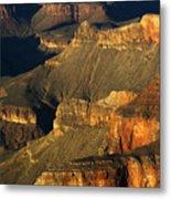 Grand Canyon Arizona Light And Shadow 1 Metal Print