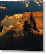 Grand Canyon Arizona Light And Shadow 2 Metal Print
