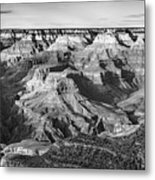 Layers Of Time In The Grand Canyon Metal Print
