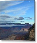 Grand Canyon Moonrise Metal Print