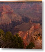 Grand Canyon Morning Light Metal Print