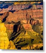 Grand Canyon Morning Light Metal Print