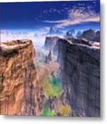 Grand Canyon Mountain . Metal Print