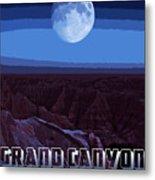 Grand Canyon Nights Metal Print