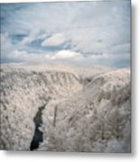 Grand Canyon Of Pa In Infrared Metal Print