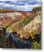 Grand Canyon Of The East Metal Print
