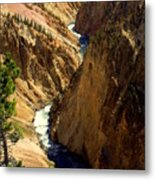 Grand Canyon Of The Yellowstone 2 Metal Print
