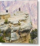 Grand Canyon Photo Op Metal Print