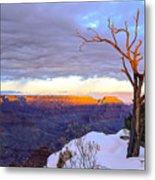 Grand Canyon Sunset Metal Print