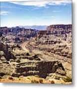 Grand Canyon West Rim Metal Print