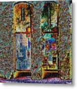 Grand Central Bakery Mosaic Metal Print