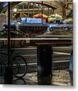 Grand Central Terminalfood Carts Metal Print