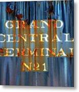 Grand Central Terminal No 1 Metal Print