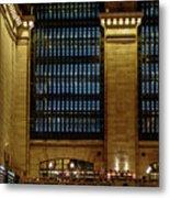 Grand Central Terminal Window Details Metal Print