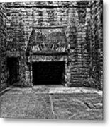 Grand Fireplace Metal Print
