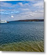 Grand Harbor On Lake Superior Metal Print