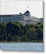 Grand Hotel On Mackinac Island Metal Print