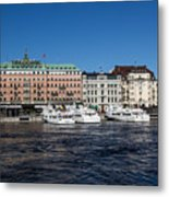 Grand Hotel Stockholm Metal Print