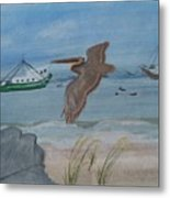 Grand Isle Louisiana Metal Print