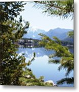 Grand Lake Co Mt Baldy Spring II Metal Print