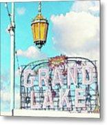 Grand Lake Merritt - Oakland, California Metal Print
