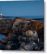 Grand Marais Lighthouse Metal Print