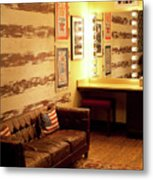 Grand Ole Opry House Backstage Dressing Room #5 In Nashville, Tennessee. Metal Print