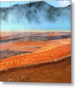 Grand Prismatic Spring, Yellowstone Metal Print