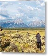 Grand Teton Photograpers Metal Print