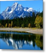 Grand Tetons 2 Metal Print by Carrie Putz