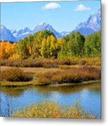 Grand Tetons 3 Metal Print