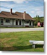 Grand Trunk Railroad - Gorham New Hampshire Metal Print