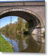 Grand Union Canal Bridge 181 Metal Print